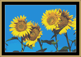 Summer Sunflower | Crafting | Cross-Stitch | Other