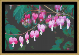 Bleeding Heart | Crafting | Cross-Stitch | Other