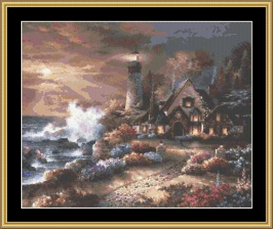 Guardian Of Light | Crafting | Cross-Stitch | Other