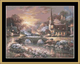 Peaceful Reflections | Crafting | Cross-Stitch | Other