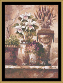 Floral Elegance I | Crafting | Cross-Stitch | Other