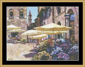 Siena Flower Market | Crafting | Cross-Stitch | Other