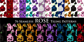 Rose Print Tiling Pattern | Software | Add-Ons and Plug-ins