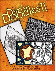 dans doodles ii coloring book 2013