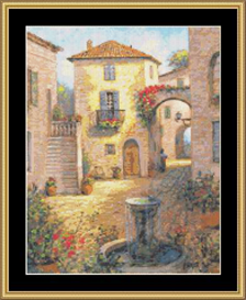 Tuscan Beauty | Crafting | Cross-Stitch | Other