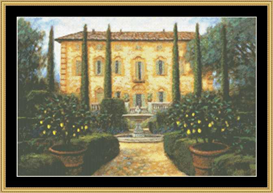 Italian Villa | Crafting | Cross-Stitch | Other