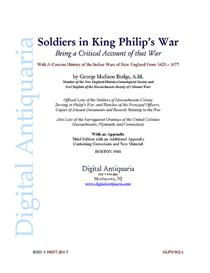 Soldiers in King Philip's War (1906) | Audio Books | History