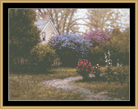 Spring Bloom   Crafting   Cross-Stitch   Other