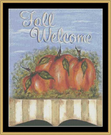 Fall Welcome | Crafting | Cross-Stitch | Other