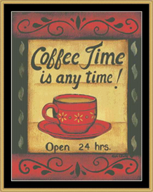 Coffee Time | Crafting | Cross-Stitch | Other