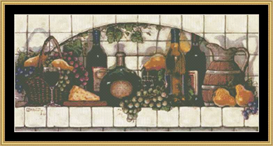 Fruit And Cheese | Crafting | Cross-Stitch | Other