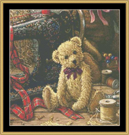 Brand New Bear 1 | Crafting | Cross-Stitch | Other