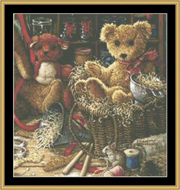Brand New Bear Ii | Crafting | Cross-Stitch | Other