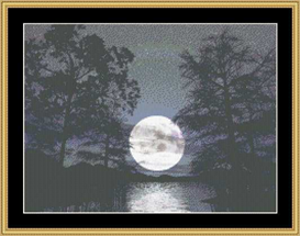 Moon Shadow | Crafting | Cross-Stitch | Other