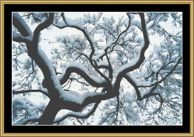 Forest Snow Ii | Crafting | Cross-Stitch | Other