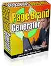 Page Brand Generator | Software | Software Templates