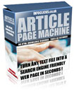 Article Page Machine | Software | Developer