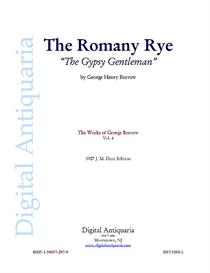 the romany rye (the gypsy gentleman)