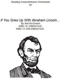 If...Abraham Lincoln Comprehension Worksheets | eBooks | Education