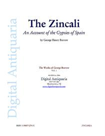 The Zincali: An Account of the Gypsies of Spain | Audio Books | History