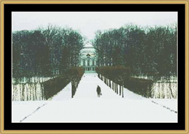 Snowy Enterance | Crafting | Cross-Stitch | Other