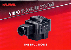 Kalimar Video Transfer System | Documents and Forms | Manuals