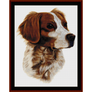 Brittany - Robert J. May cross stitch pattern by Cross Stitch Collectibles | Crafting | Cross-Stitch | Wall Hangings