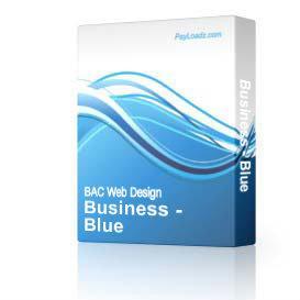 Business - Blue & Gray (DWT)   Software   Design Templates
