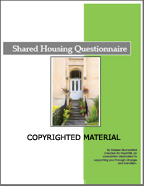 Shared Housing Questionnaire | Other Files | Documents and Forms