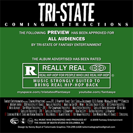 Tri-State - Coming Attractions Mixtape