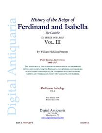 History of the Reign of Ferdinand and Isabella (Vol. III) | Audio Books | History