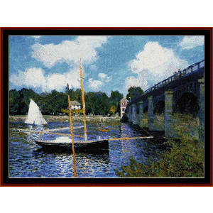 Highway - Monet cross stitch pattern by Cross Stitch Collectibles | Crafting | Cross-Stitch | Other
