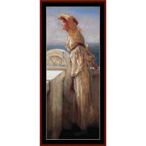 Hopeful - Alma Tadema cross stitch pattern by Cross Stitch Collectibles | Crafting | Cross-Stitch | Wall Hangings