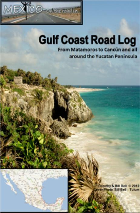 First Additional product image for - Mexico Gulf Coast and Yucatan Road and Travel Guide