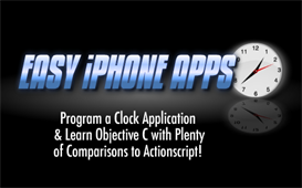 iphone app tutorial clock project