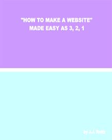 how to make a website made easy as 3 2 1