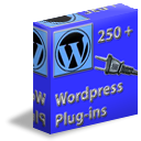over 250 wordpress plug ins