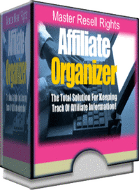 Affiliate Organizer | Software | Internet