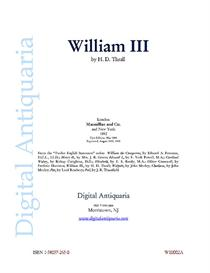 William III (1892) | eBooks | History