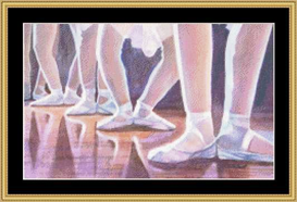 Ballet Class | Crafting | Cross-Stitch | Other