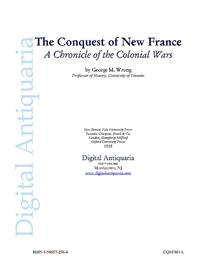 The Conquest of New France   eBooks   History