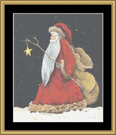 Santa Star | Crafting | Cross-Stitch | Other