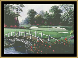 Bridge From No.9 | Crafting | Cross-Stitch | Other