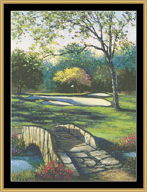 Old Bridge To No. 18 | Crafting | Cross-Stitch | Other