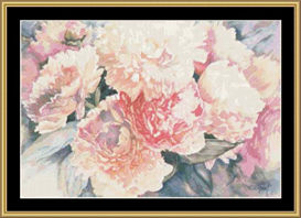 Peonies Ii | Crafting | Cross-Stitch | Other