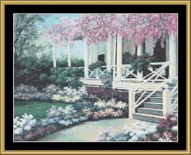 Porch Garden | Crafting | Cross-Stitch | Other
