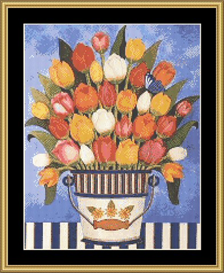 Tulips | Crafting | Cross-Stitch | Other