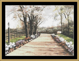 Spring Lane | Crafting | Cross-Stitch | Other