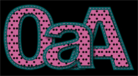 Dots and Dashes - Pink Black Aqua | Other Files | Scrapbooking