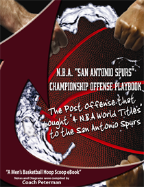 N.B.A. San Antonio Spurs Championship Offense Playbook | eBooks | Sports